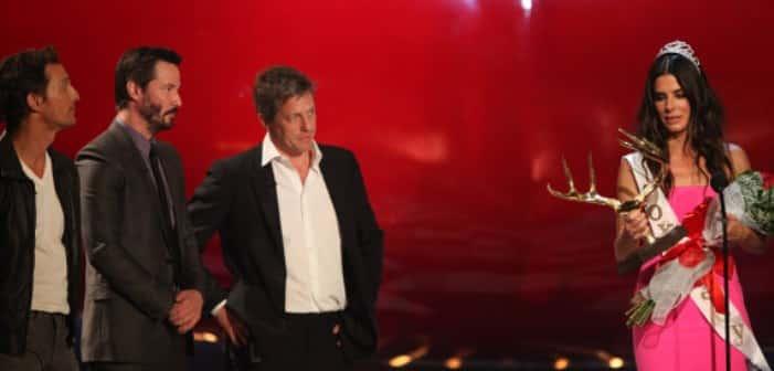 Spike TV's Guys' Choice Awards Crowns Sandra Bullock as 'Decade of Hotness' Winner
