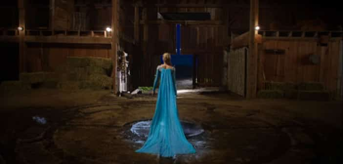 See Georgina Haig as Queen Elsa on 'Once Upon A Time' Set! 4
