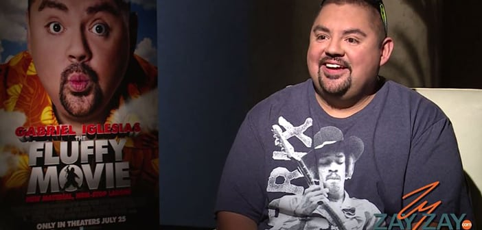 The Fluffy Movie - Gabriel Iglesias Interview - ZayZay.Com