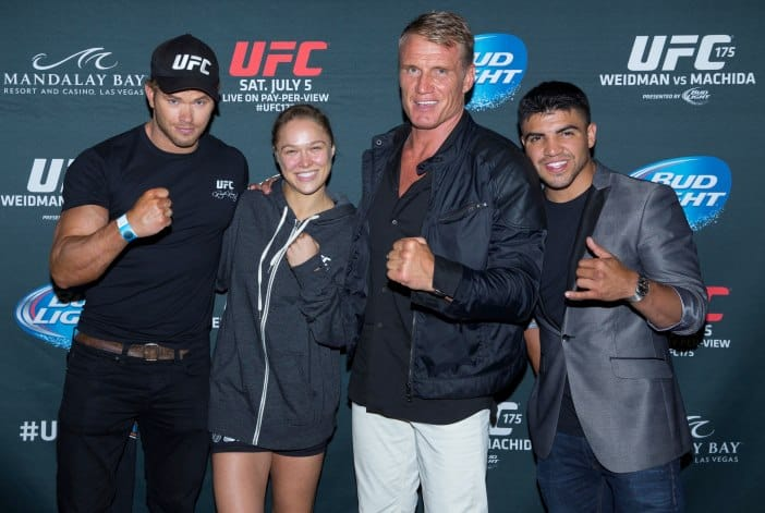 EXPENDABLES 3  Ronda Rousey UFC Women's CHAMPION full