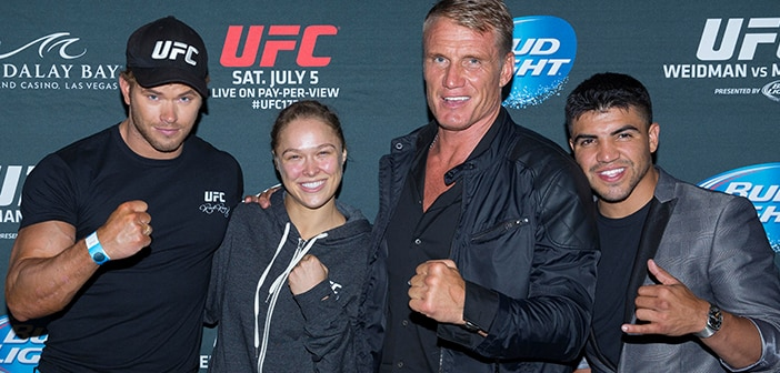 THE EXPENDABLES 3 / Ronda Rousey UFC Women's Bantamweight CHAMPION! 2
