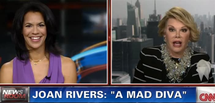 Joan Rivers Blows Up and Leaves During CNN interview