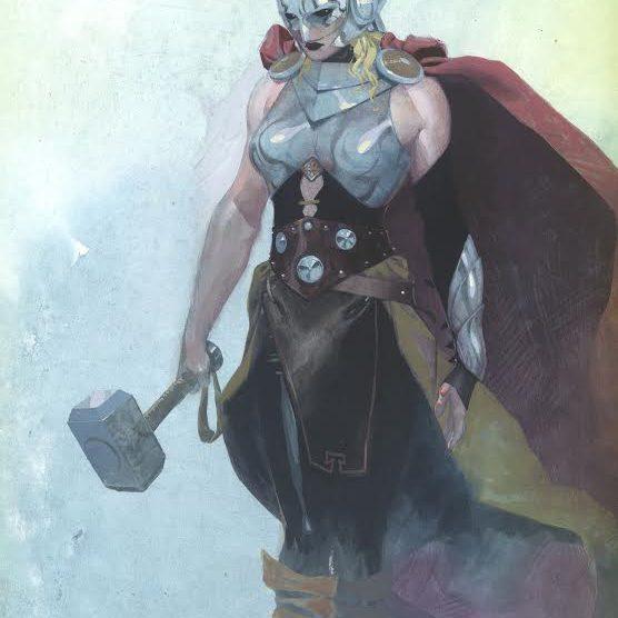 """Marvel's Thor Passes The Hammer To New """"Goddess Of Thunder"""" 2"""