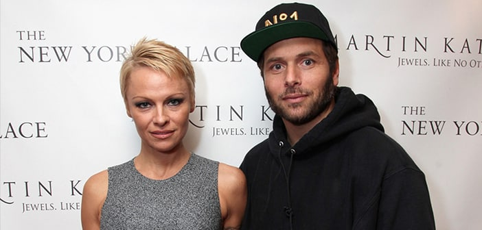 Pam Anderson Files For Divorce From Rick Salomon For a 2nd Time