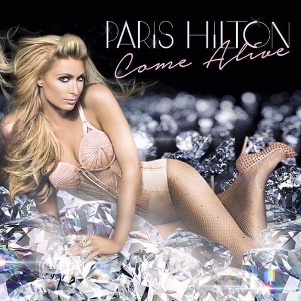 Paris Hilton performing Come Alive album