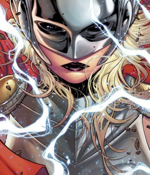 """Marvel's Thor Passes The Hammer To New """"Goddess Of Thunder"""" 1"""