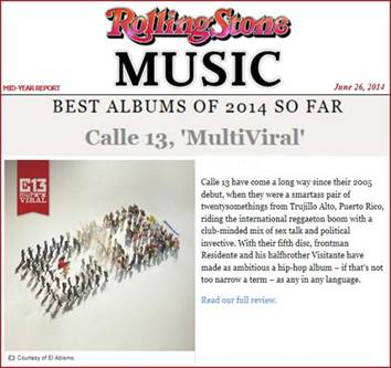 rolling stone calle 13