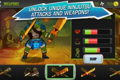 New TEENAGE MUTANT NINJA TURTLES Mobile Game - Available today! 4