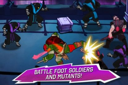 New TEENAGE MUTANT NINJA TURTLES Mobile Game - Available today! 5