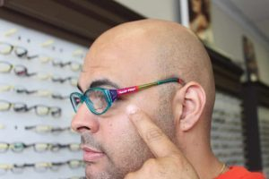 ZayZay Gets  An Eye Exam to See What All the Hype Is About Transitions Lenses 7