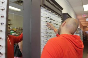 ZayZay Gets  An Eye Exam to See What All the Hype Is About Transitions Lenses 8