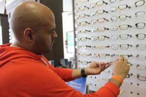 ZayZay Gets  An Eye Exam to See What All the Hype Is About Transitions Lenses 9