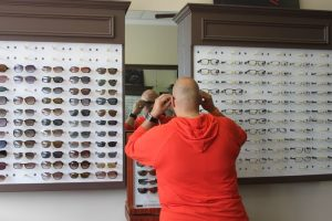 ZayZay Gets  An Eye Exam to See What All the Hype Is About Transitions Lenses 10