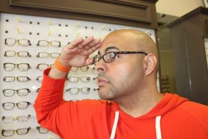 ZayZay Gets  An Eye Exam to See What All the Hype Is About Transitions Lenses 11