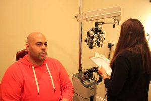 ZayZay Gets  An Eye Exam to See What All the Hype Is About Transitions Lenses 18