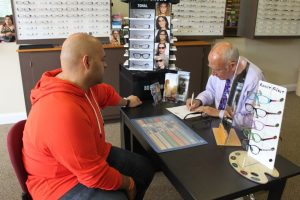 ZayZay Gets  An Eye Exam to See What All the Hype Is About Transitions Lenses 20