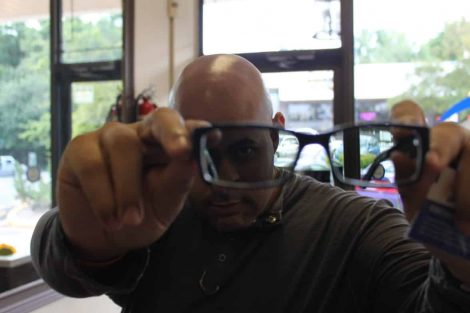 ZayZay Gets  An Eye Exam to See What All the Hype Is About Transitions Lenses 24
