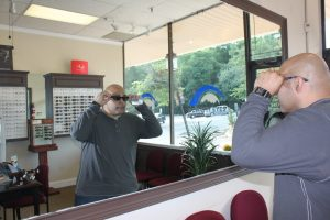 ZayZay Gets  An Eye Exam to See What All the Hype Is About Transitions Lenses 28