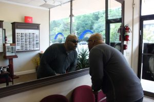 ZayZay Gets  An Eye Exam to See What All the Hype Is About Transitions Lenses 29