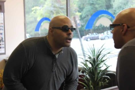 ZayZay Gets  An Eye Exam to See What All the Hype Is About Transitions Lenses 30