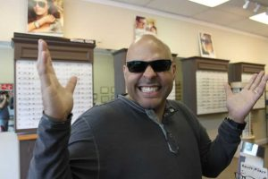 ZayZay Gets  An Eye Exam to See What All the Hype Is About Transitions Lenses 31