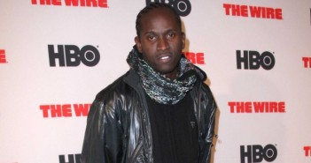 """""""The Wire"""" Actor Anwan Glover"""