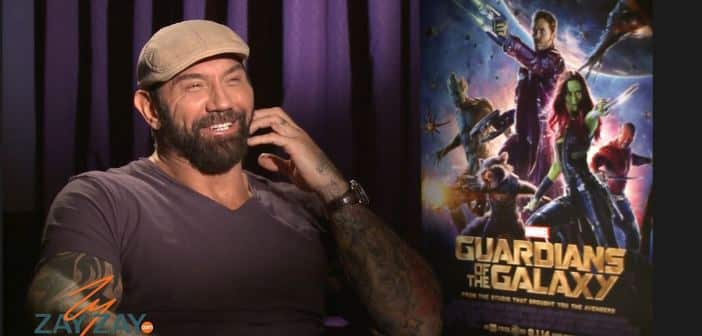 Guardians of the Galaxy - Dave Bautista Interview - ZayZay.Com