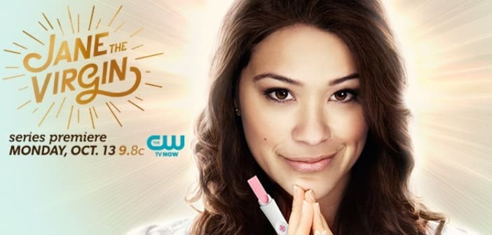 """""""JANE THE VIRGIN"""" Premieres Oct. 13 on The CW Network starring Gina Rodriguez & Jaime Camil"""