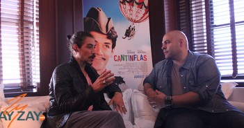 Oscar Jaenada Interview - Cantinflas - ZayZay2