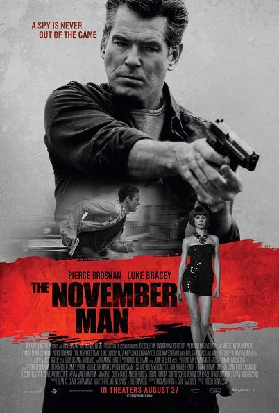 Pierce Brosnan is THE NOVEMBER MAN - new film clip