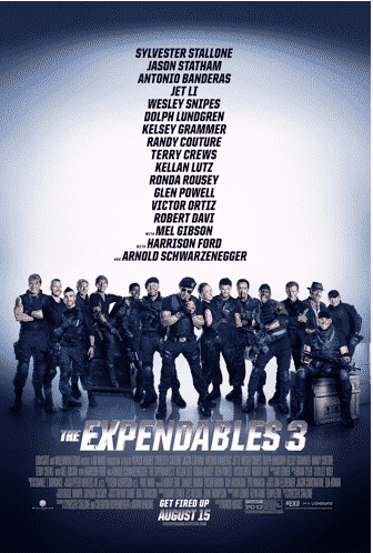 expendables 3 trailer poster