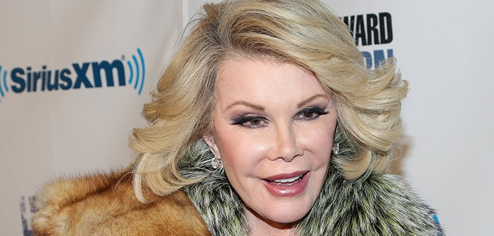 Joan Rivers stopped breathing after being rushed to ER but is now 'resting comfortably'