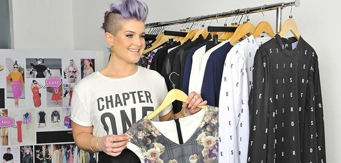 Kelly Osbourne All Set For  'Stories' Clothing Line Launch