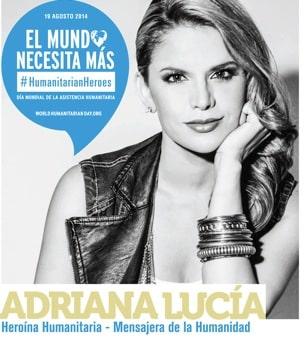 ADRIANA LUCIA Mensajera de la Humanidad