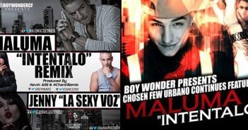 Boy Wonder presenta Inténtalo Ft Maluma
