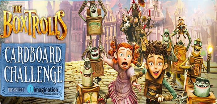 The Boxtrolls Team Up with Imagination for the Global Cardboard Challenge!