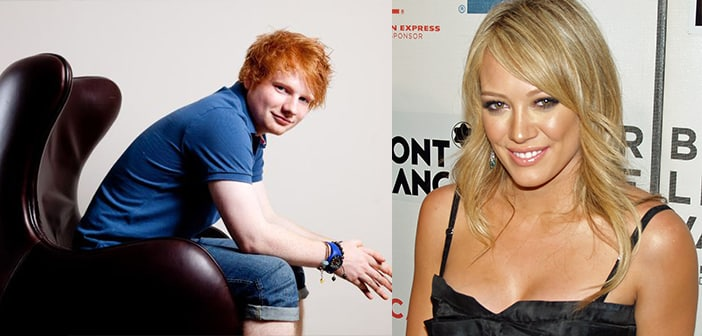 Ed Sheeran Jumps Into Hilary Duff Track For Truly Collaborated Song