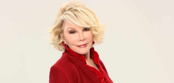 Joan Rivers Remains on Life Support Says Daughter