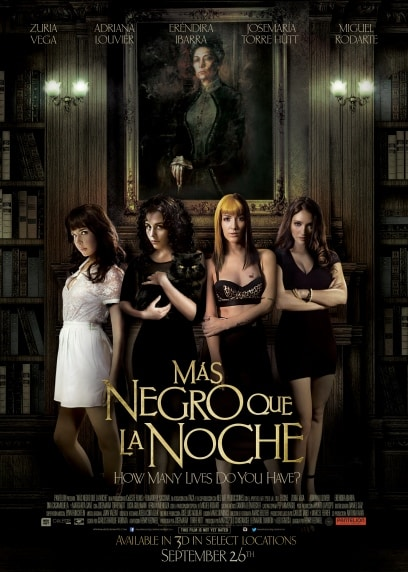 MÁS NEGRO QUE LA NOCHE poster