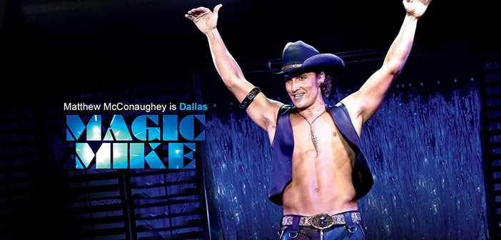 Matthew McConaughey Walks Away From 'Magic Mike XXL' Stage