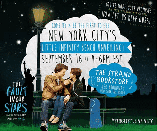 NY Little Infinity Bench Unveiling!