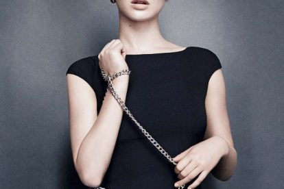 Jennifer Lawrence Looks gorgeous In New 'Be Dior' Campaign 2