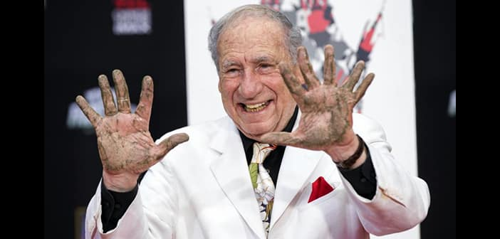 Mel Brooks Is Honored, and Has Fn with, Addition To Walk of Fame