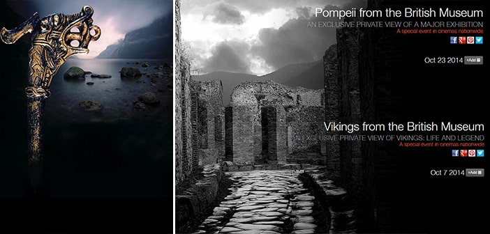Historic 'Vikings' and 'Pompeii,' Exhibitions from the British Museum Come to U.S. Movie Theaters, Each for Only One Night in October