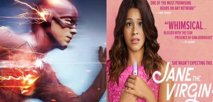 "The CW Annnounces Full Season Orders For ""THE FLASH"" and ""JANE THE VIRGIN"""