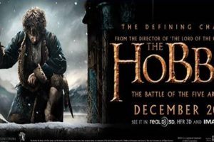 THE HOBBIT: THE BATTLE OF THE FIVE ARMIES - New Poster & Banners