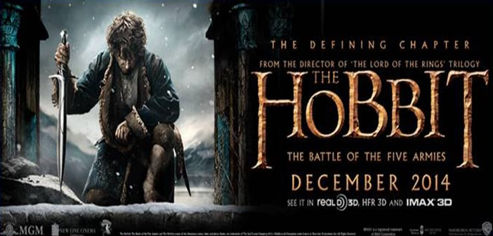 THE HOBBIT: THE BATTLE OF THE FIVE ARMIES — Signed Poster Giveaway!