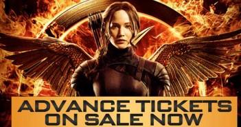Hunger Games MockingJay Advance tickets