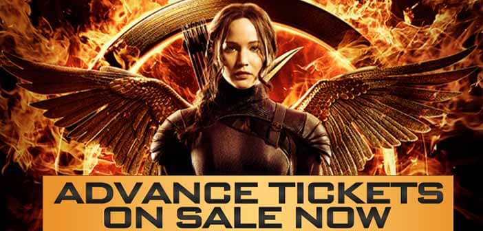 24Hours ONLY!!!! HG:MOCKINGJAY Advance Tickets On Sale Now!