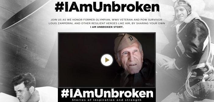 Universal Pictures Launches #IAMUNBROKEN Campaign